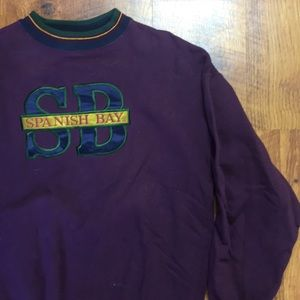 VINTAGE SPANISH BAY PULLOVER SWEATER
